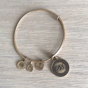 Alex and Ani phi mu bracelet